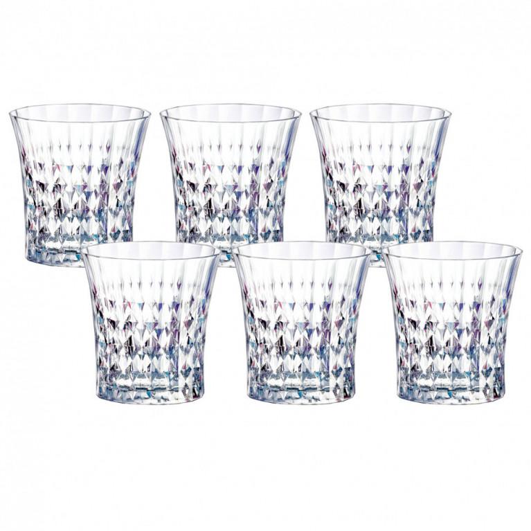 Набор низких стаканов Lady Diamond 270, 6 шт