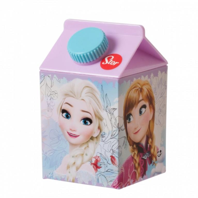 Бутылка в форме коробки йогурта ХОЛОДНОЕ СЕРДЦЕ 460мл
