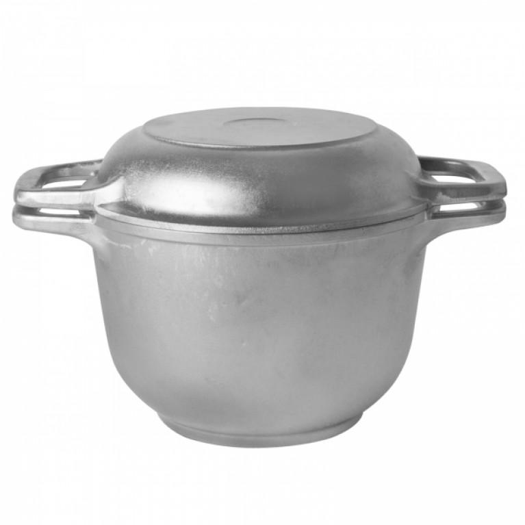 Заготовка казан 5л с крышкой сковородой