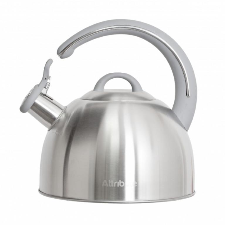 Чайник со свистком CHROME 2.8л