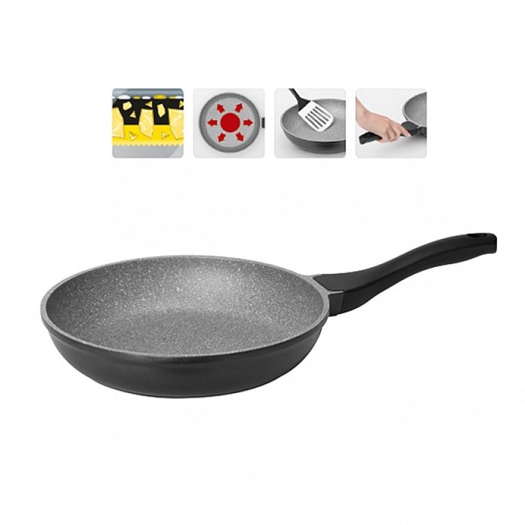 Сковорода с антипригарным покрытием 26см NADOBA серия GRANIA