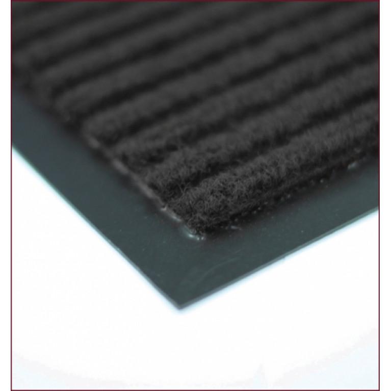 Коврик ребристый 50х80см черный (22049)