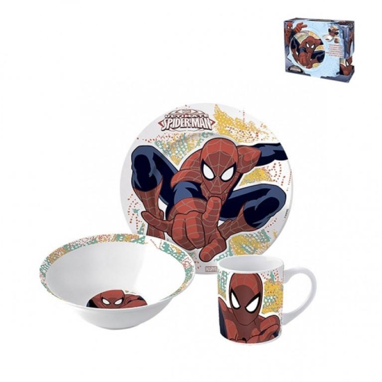 Набор посуды 1/3 п/у Человек паук