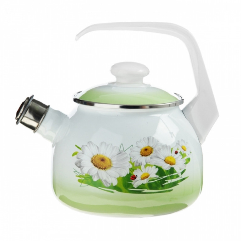 Чайник 2.5л со свист. с рис. (С-2711АП/7)