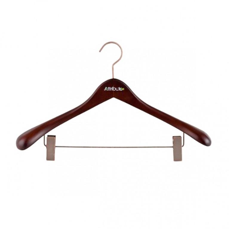 Вешалка для верхней одежды с клипсами PRESTIGE 44см