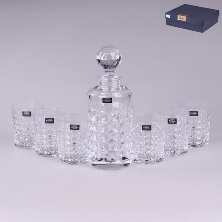 Набор для виски 7 предметов DIAMOND