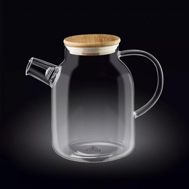 Чайник заварочный WILMAX THERMO GLASS, 1,6 Л