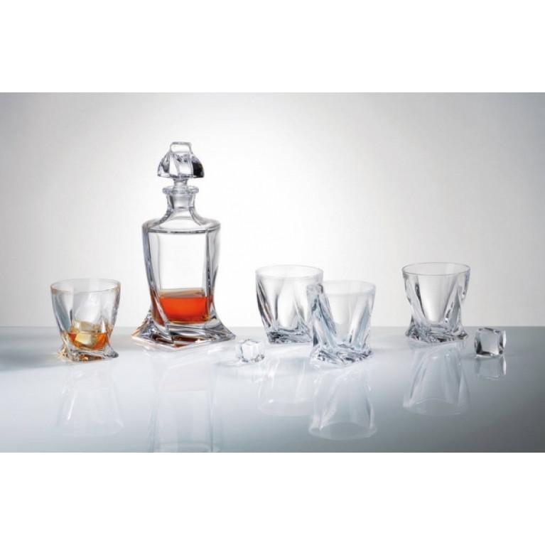 Набор для виски 5 предмета QUADRO