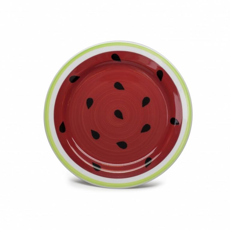 Тарелка десертная WATER-MELON 19см