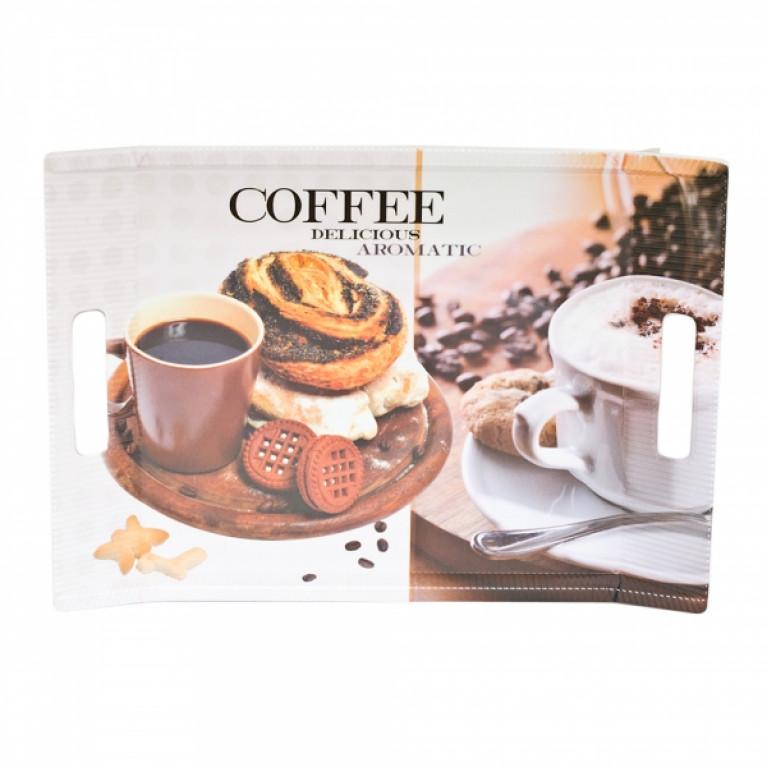Поднос COFFEE BREAK 38х27см