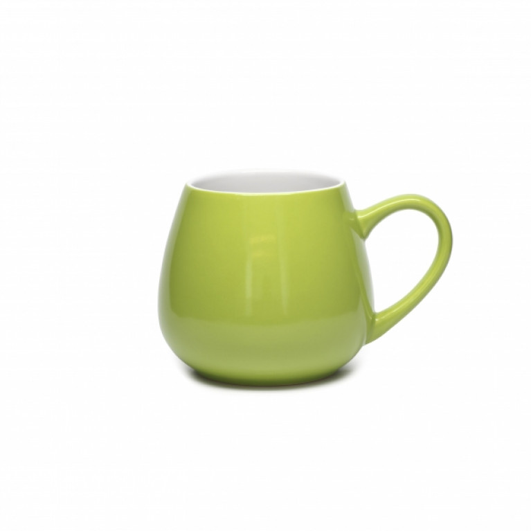 Кружка COLORS бочонок 500мл зеленая