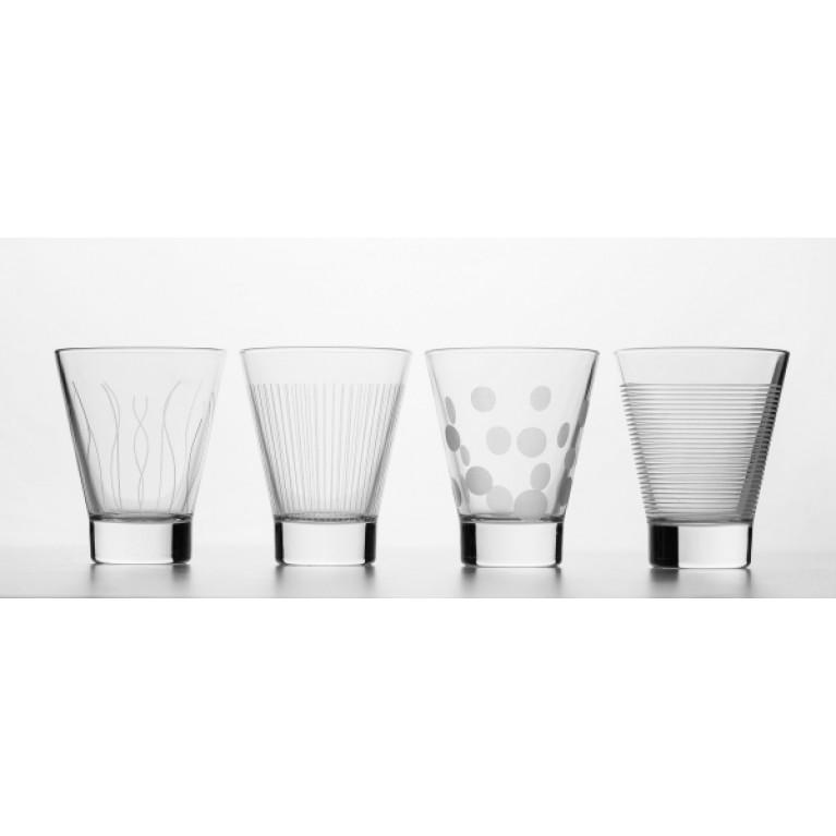 Набор стаканов ЛАУНЖ КЛАБ 300мл 4шт низкие