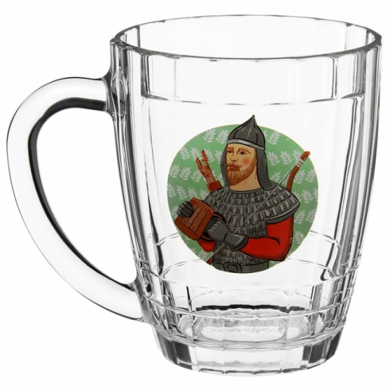 Кружка для пива ПИНТА БОГАТЫРИ 500мл