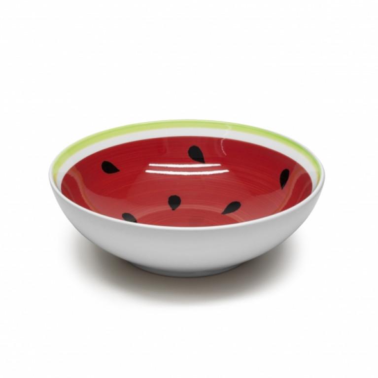 Тарелка суповая WATER-MELON 18см