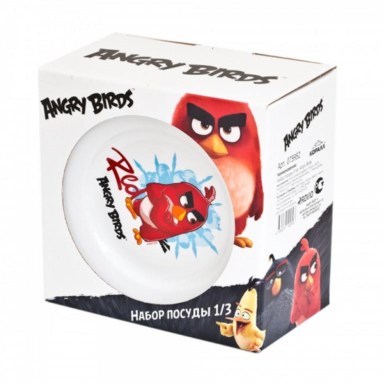 Набор посуды Angry Birds