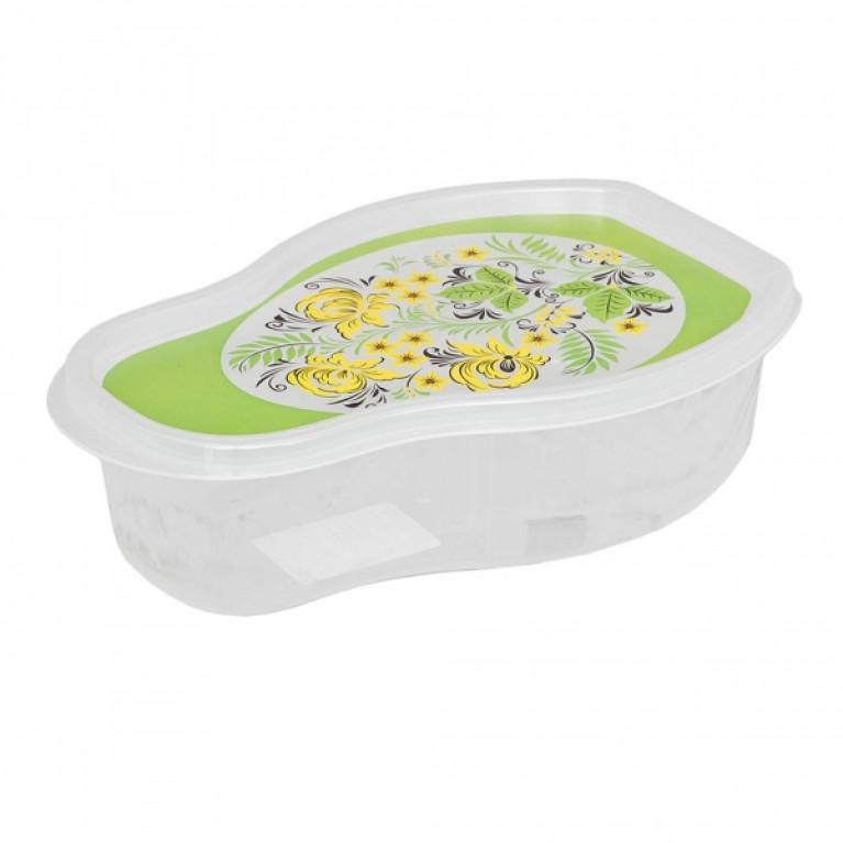 Емкость для холодильника и микроволновой печи 12Л с декором