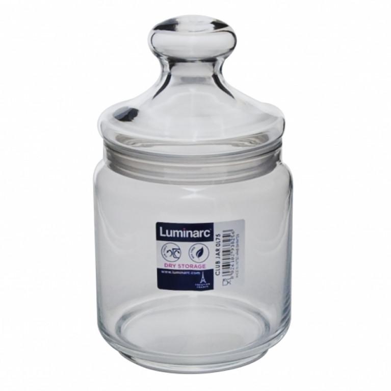 Банка для продуктов КЛУБ с крышкой 0,75 л