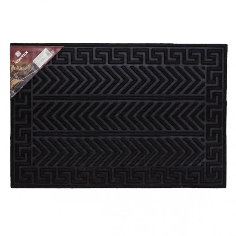 Коврик рельефный Greek 40x40см черный VORTEX