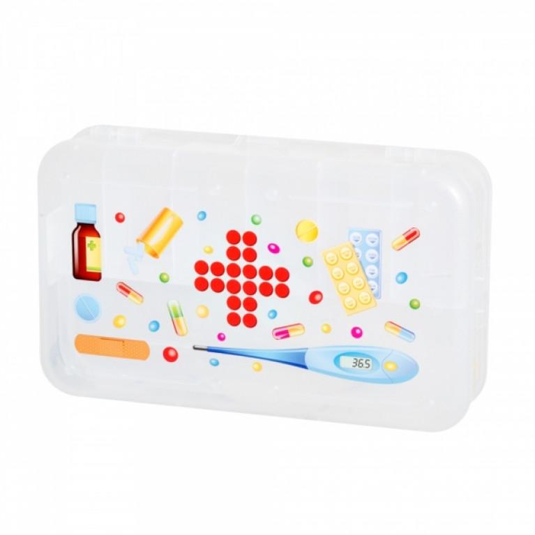 Коробка для мелочей с декором 225х135х53 мм