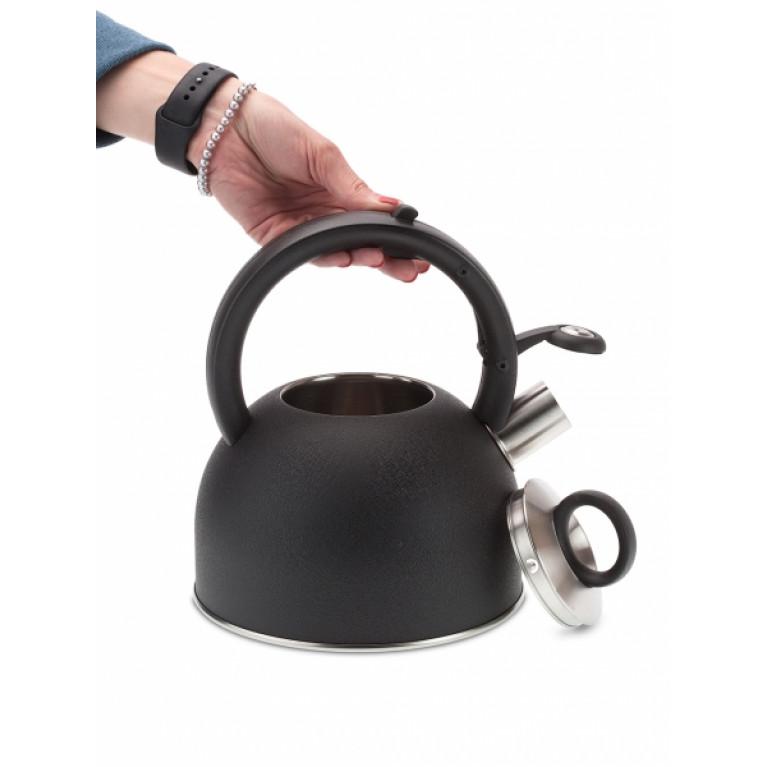Чайник со свистком 2.5л NADOBA серия ANESA