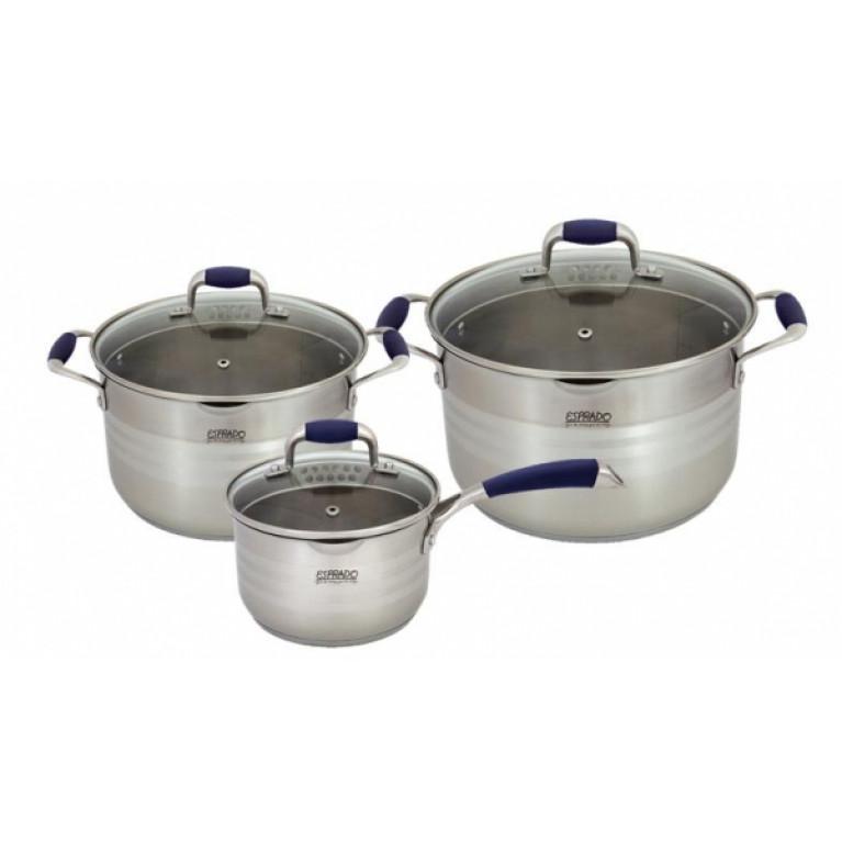 Набор посуды для приготовления 6 пр. нер