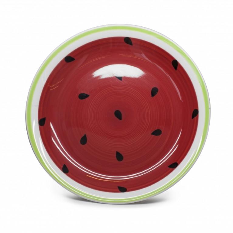 Тарелка обеденная WATER-MELON 25см