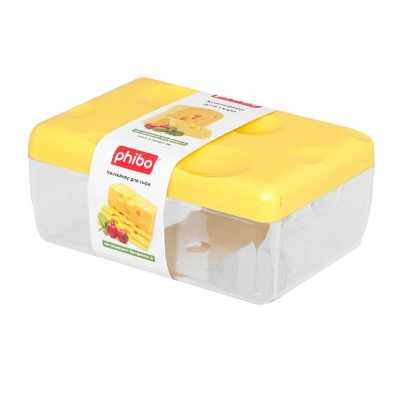 Контейнер для сыра (желтый)