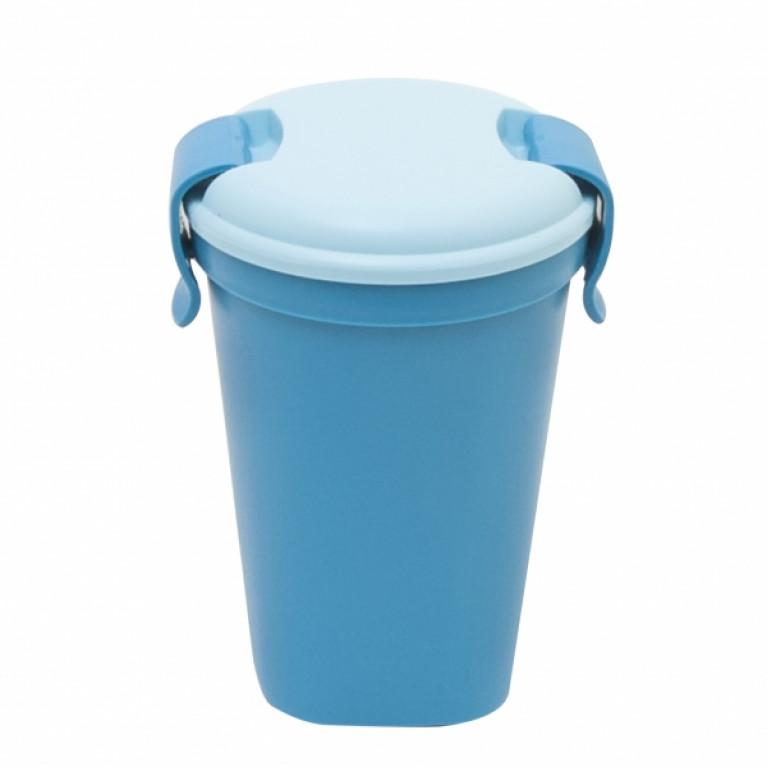 Большая чашка ЧАШКА LUNCH & GO голубая