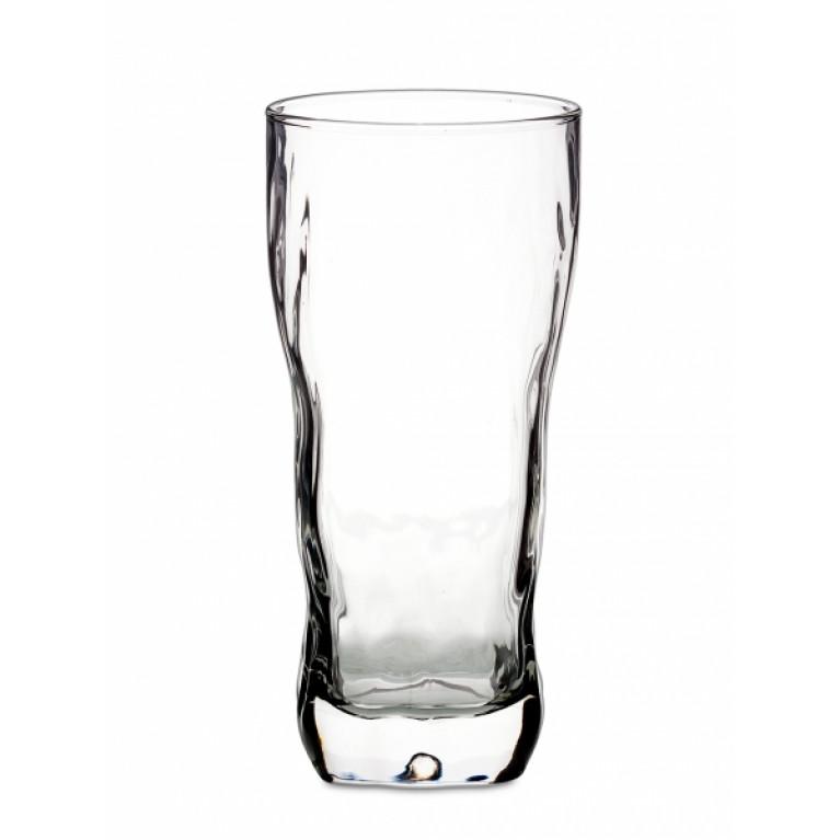 Набор стаканов АЙСИ с цветным дном 3шт 400мл высокие