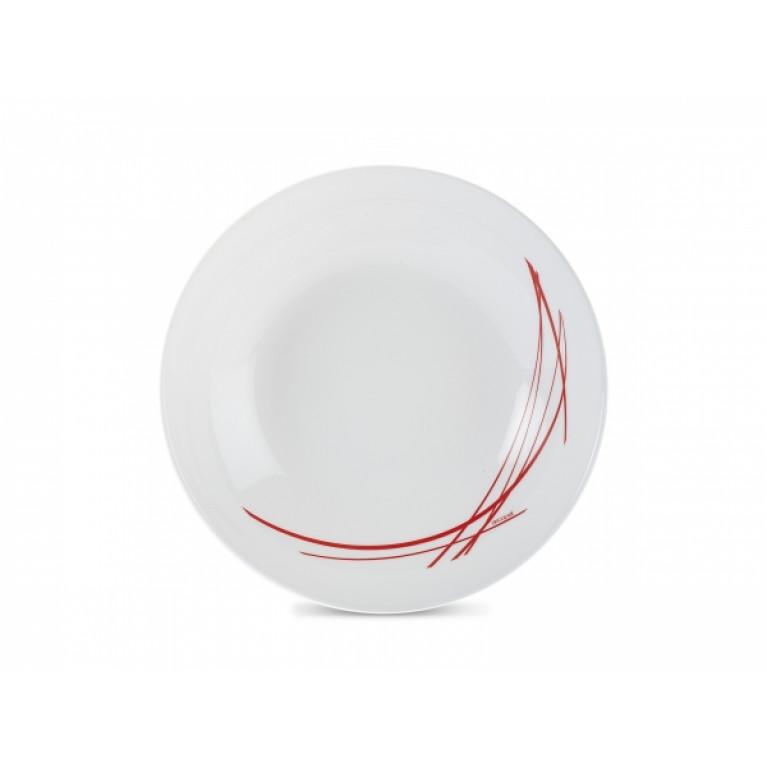 Тарелка суповая ДОМИТИЛЬ РЭД 20см