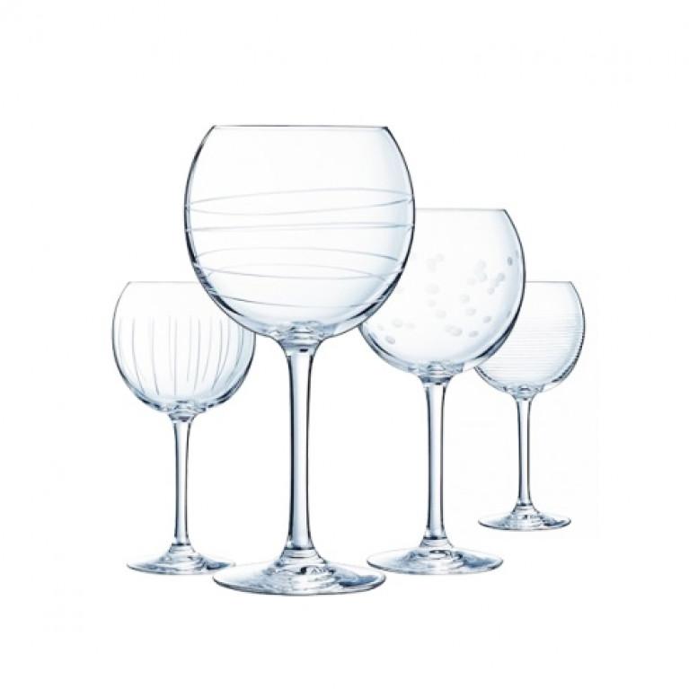 Набор фужеров (бокалов) для вина ИЛЛЮМИНЕЙШН БАЛЛОН 470мл 4шт
