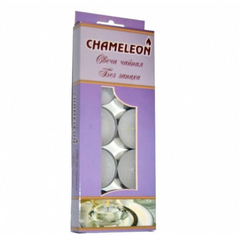 Свечи чайные в гильзе без запаха 10шт 15мм (2-4 часа)