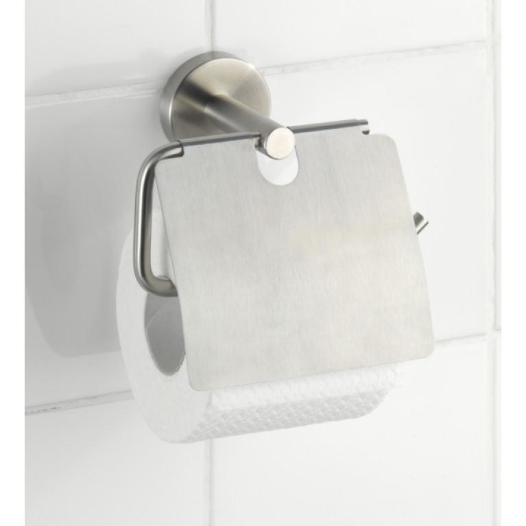 Держатель туалетной бумаги с крышкой BOSIO