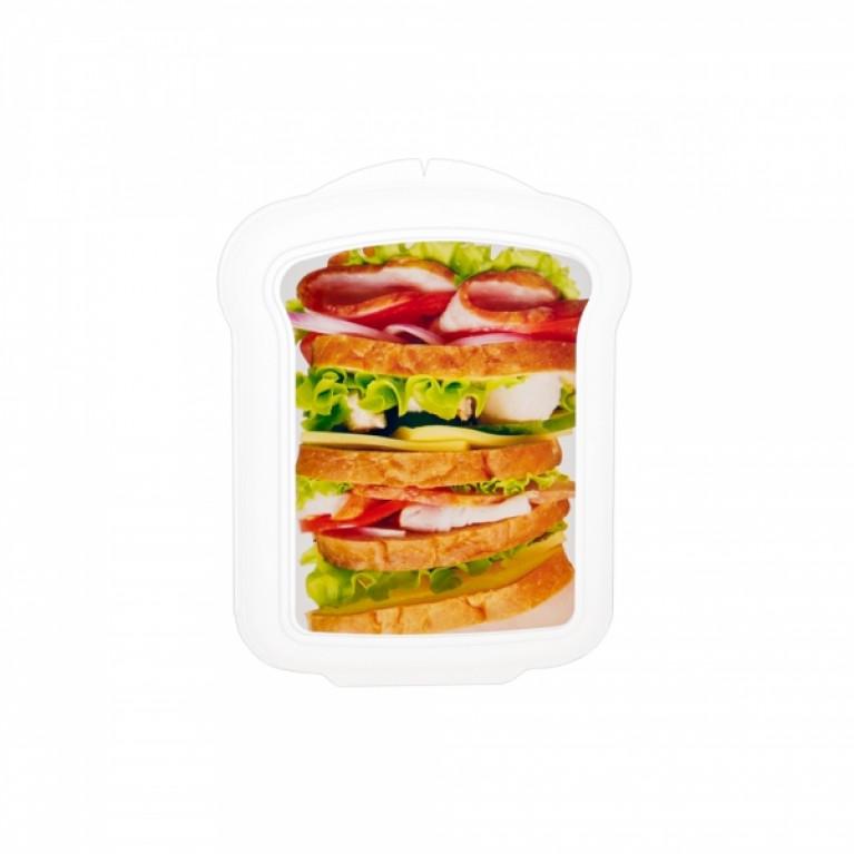 Контейнер для бутербродов 170х130х42мм