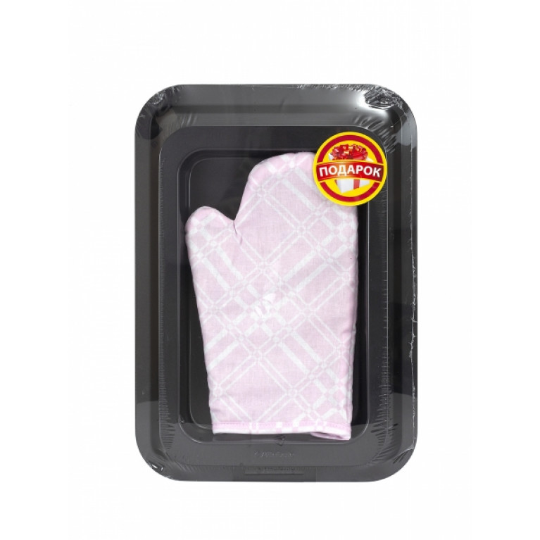 Набор форм для выпечки BAKE IT EASY ростер 32х21.5см + противень 38х27см (варежка-прихватка в подарок)
