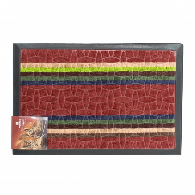 Коврик придверный COMFORT 40х60см красный
