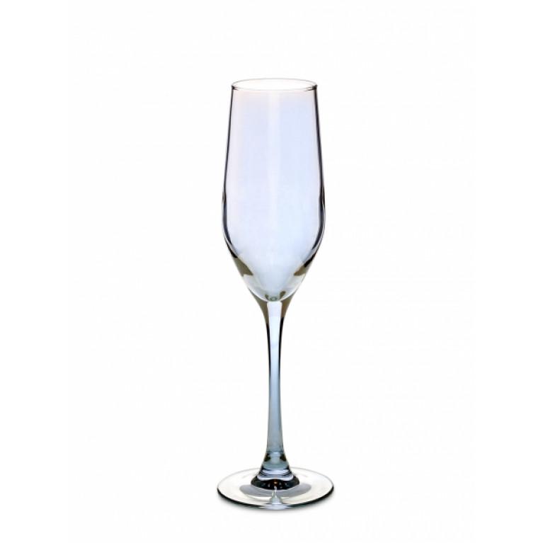 Бокал для шампанского СЕЛЕСТ 160мл ЗОЛОТИСТЫЙ ХАМЕЛЕОН 6шт