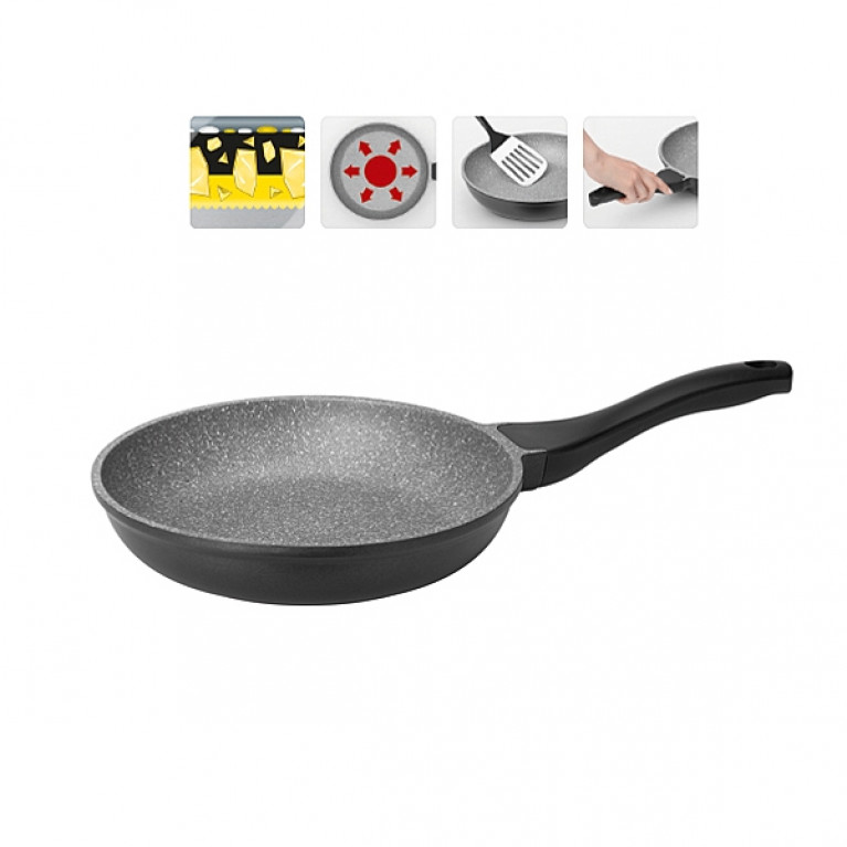Сковорода с антипригарным покрытием 24см NADOBA серия GRANIA