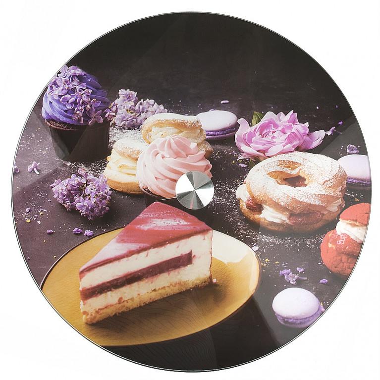 Блюдо вращающееся для сервировки стола Сладости d=32см. h=2.2см. (нижний d=19см.)