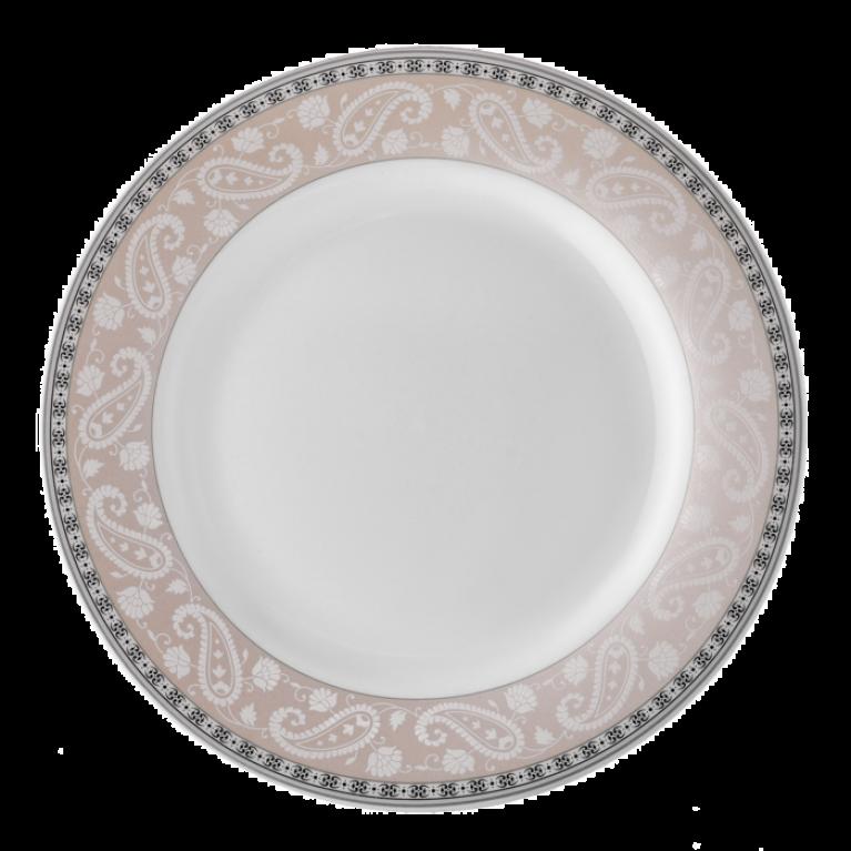 Тарелка обеденная 22,5 см костяной фарфор Arista Rose