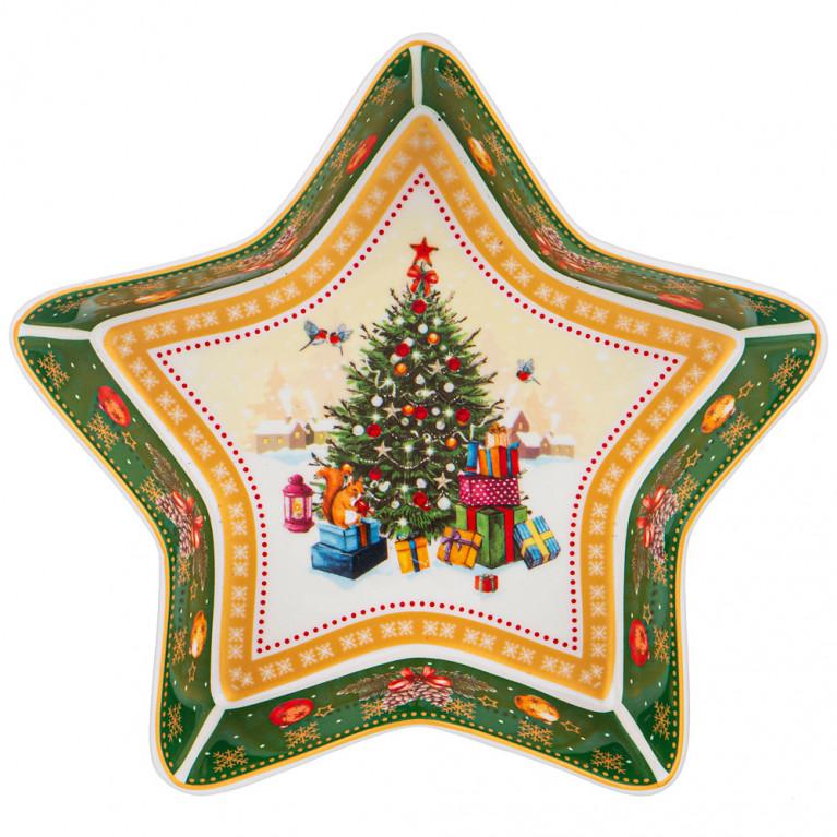 "Блюдо ""Christmas Collection"" 17,5Х17,5Х3,5 см"
