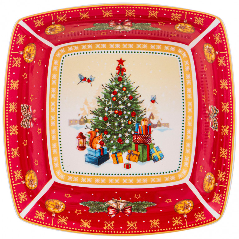 "САЛАТНИК ""CHRISTMAS COLLECTION"" 15,5Х15,5Х5 СМ"
