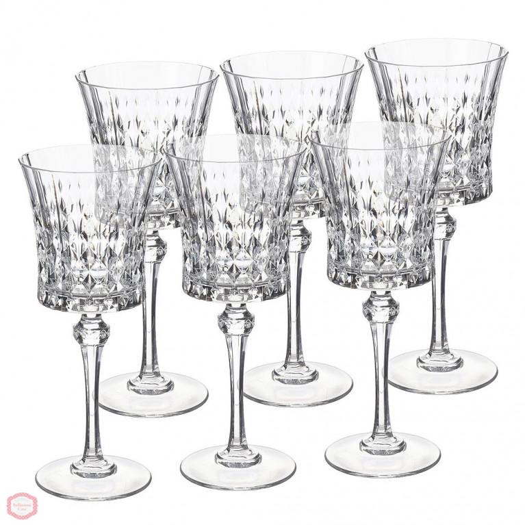 Набор бокалов для вина Lady Diamond 270, 6 шт