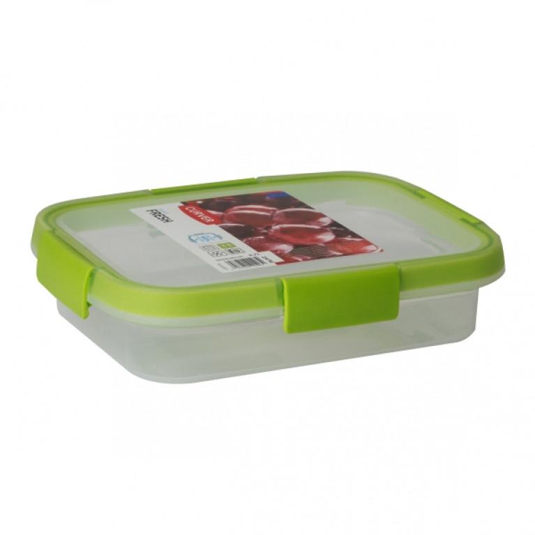 Контейнер пищевой прямоугольный FRESH 0.7л зеленый