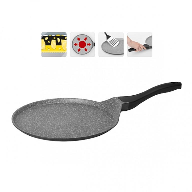 Сковорода блинная с антипригарным покрытием 28см NADOBA серия GRANIA