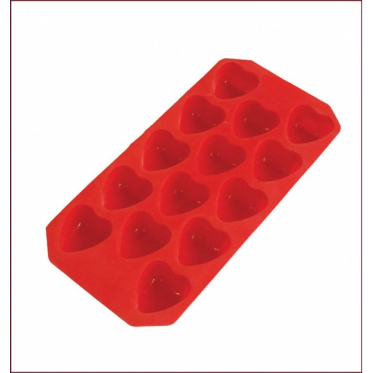 Форма из силикона СЕРДЕЧКИ MARMITON 14 кубиков