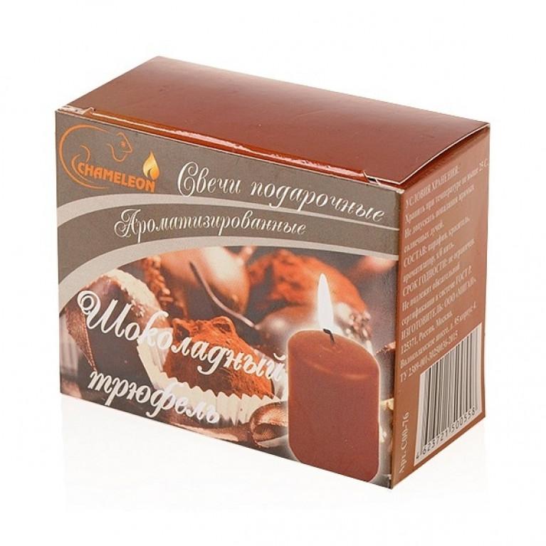 Набор свечей с ароматом шоколадного трюфеля