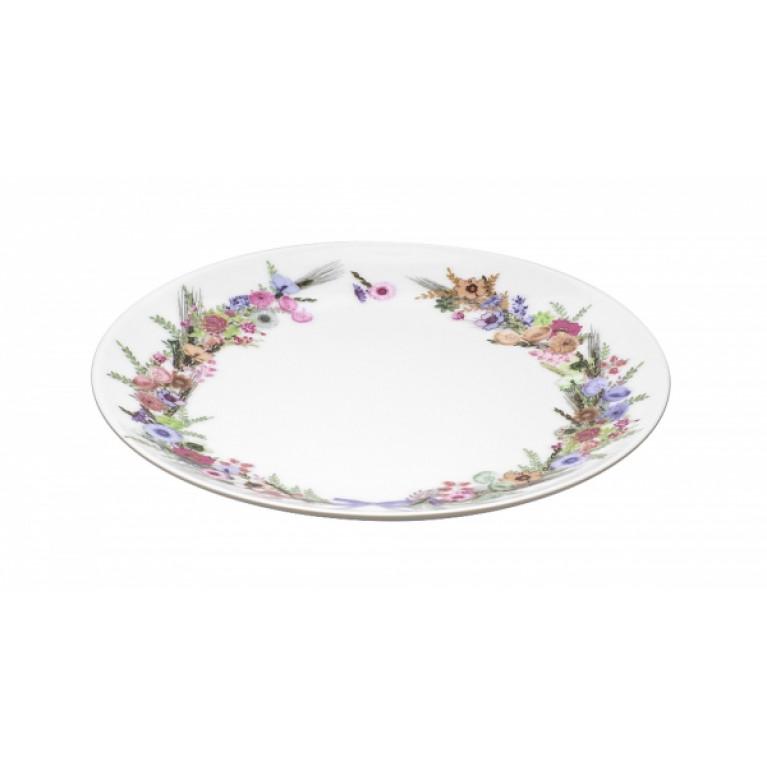 Тарелка десертная CROWN OF FLOWERS 19см