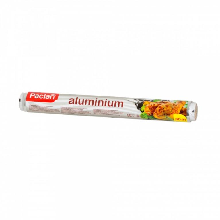 Фольга алюминиевая 30*29см в рулоне