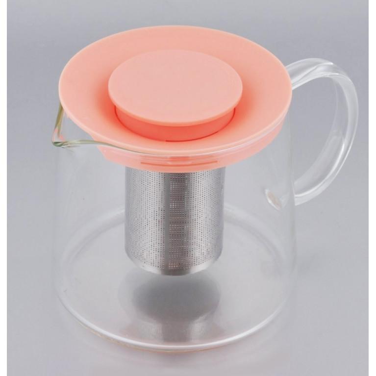 Чайник стеклянный с фильтром CAMILLA 650мл